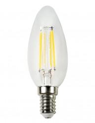 Bombilla vela LED de filamentos E14 4W-I15135S