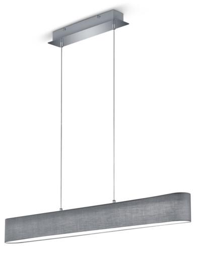 lampara de comedor LED gris-3134GR