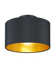 plafon negro con interior dorado-3139ZW