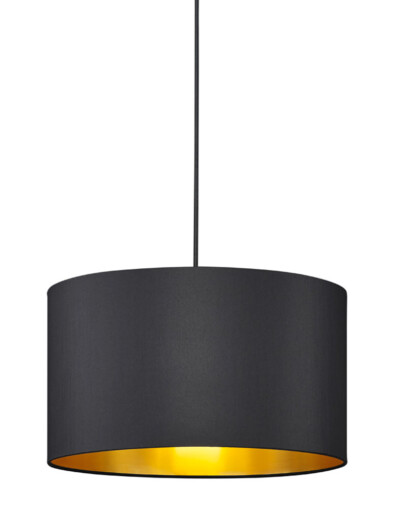 lampara de techo negra redonda-3140ZW