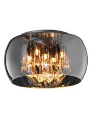 plafon de diseño vidrio ahumado-3143CH