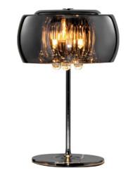 lampara de mesa cristal ahumado-3145CH
