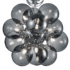 plafon doce esferas vidrio ahumado-3148CH