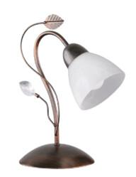 Lámpara de mesa rústica bronce-3151B