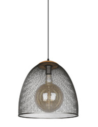 lampara de jaula gris-3160ST