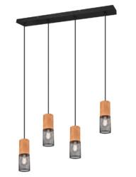 lampara de comedor de cuatro luces-3162ZW