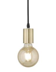 lampara colgante en laton-3166ME