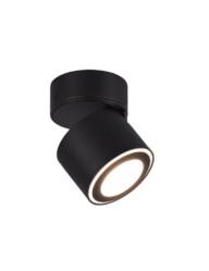 foco de superficie led negro inclinable-3167ZW