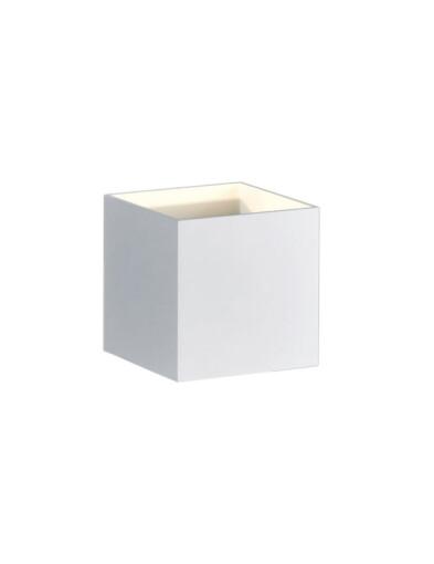 aplique blanco led cuadrado-3173W