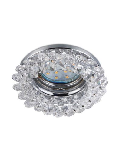 Foco empotrable de cristales-3184CH