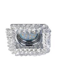 Foco empotrable de cristal cuadrado-3185CH