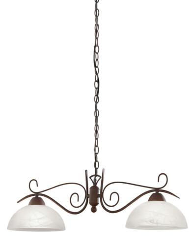 lampara de techo clasica dos luces-3192B