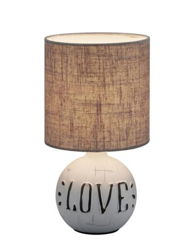 lampara de mesa love-3210GR