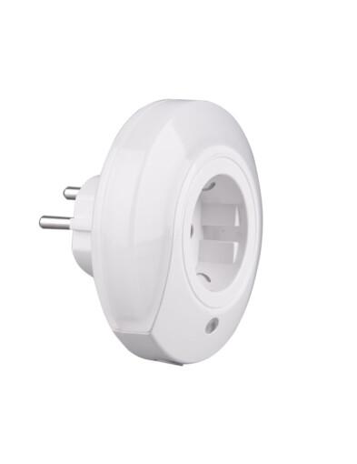 lampara LED blanca enchufable-3219W