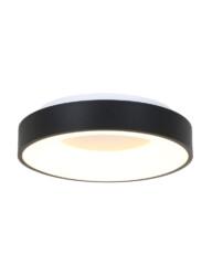 Plafón redondo negro LED-3086ZW
