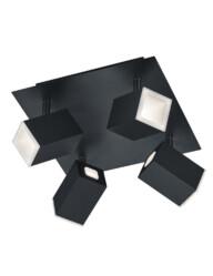 Plafón negro LED atenuable-3183ZW