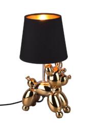Lámpara de mesa dorada globo-3208GO