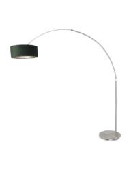 Lámpara de arco con pantalla verde-8124ST