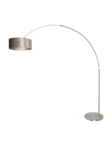 Lámpara de arco plateada-8125ST
